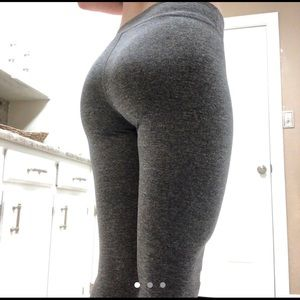 Womens gray leggings